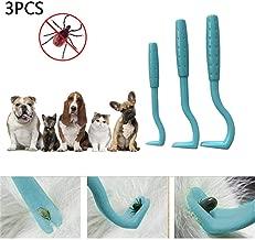 amathings 6/Piel Cuidado Juego en Verde//Rojo para Perros y Gatos con 4/de garrapatas de alicates//garrapatas Pinzas y 2/Unidades de Peine antipiojos//garrapatas Peine