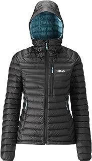 RAB Women's Microlight Alpine Jacket - Black/Seaglass - 10