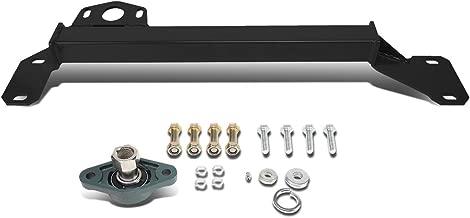DNA Motoring Black BRR-009-BK Steering Box Stabilizer Bar [for 94-02 Dodge Ram 2WD]