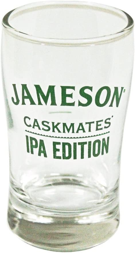 Jameson Tampa Mall Whiskey Mini Snifter Pint-Shaped Shot Glass IP Caskmates In stock