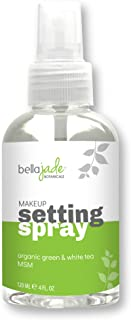 Makeup Setting Spray with Organic Green Tea, MSM and DMAE - A Must for Your Natural Anti Aging Skincare Routine - large 4 ...