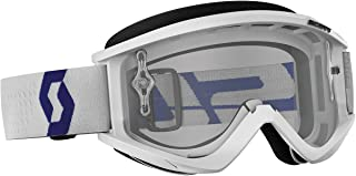 Scott Recoil XI Adult Off-Road Motorcycle Goggles - White/Clear/One Size