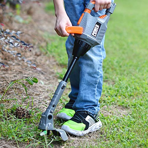Sunny Days Entertainment Maxx Action Power Tools Weed Trimmer – Construction Tool with Lights and Sounds   Pretend Play Toy for Kids