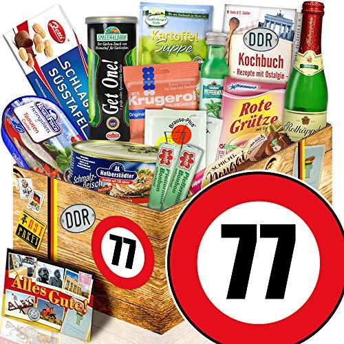 Spezial Geschenk / DDR Geschenk L / Zahl 77 / Geschenkset Mutter