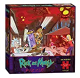USAOPOLY Rick & Morty Puzzle (550 Piece), Multicolor