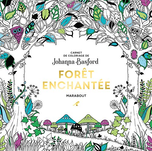 Photo de le-petit-livre-de-coloriages-foret-enchantee