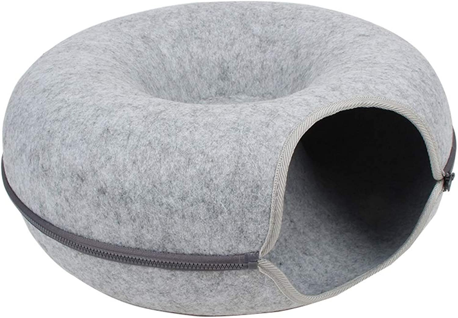 LFpet supplies Pet Bed Warm Dog House Cat Litter Four Seasons Universal Washable Semiclosed Pet Supplies