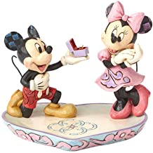 Enesco Disney Traditions by Jim Shore – Mickey Proposing to Minnie Ring Dish