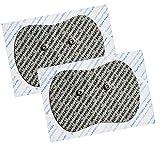 Sport-Elec Tens Sudoloris - Electrodos para electroestimulador (2 Unidades), Color Gris y Rojo
