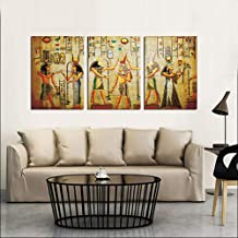 CasualGrocery,Wall Painting on Canvas, for Perfect Decorate Addition any Wall, 3 Pieces Without Framed (40cmx60cmx3)