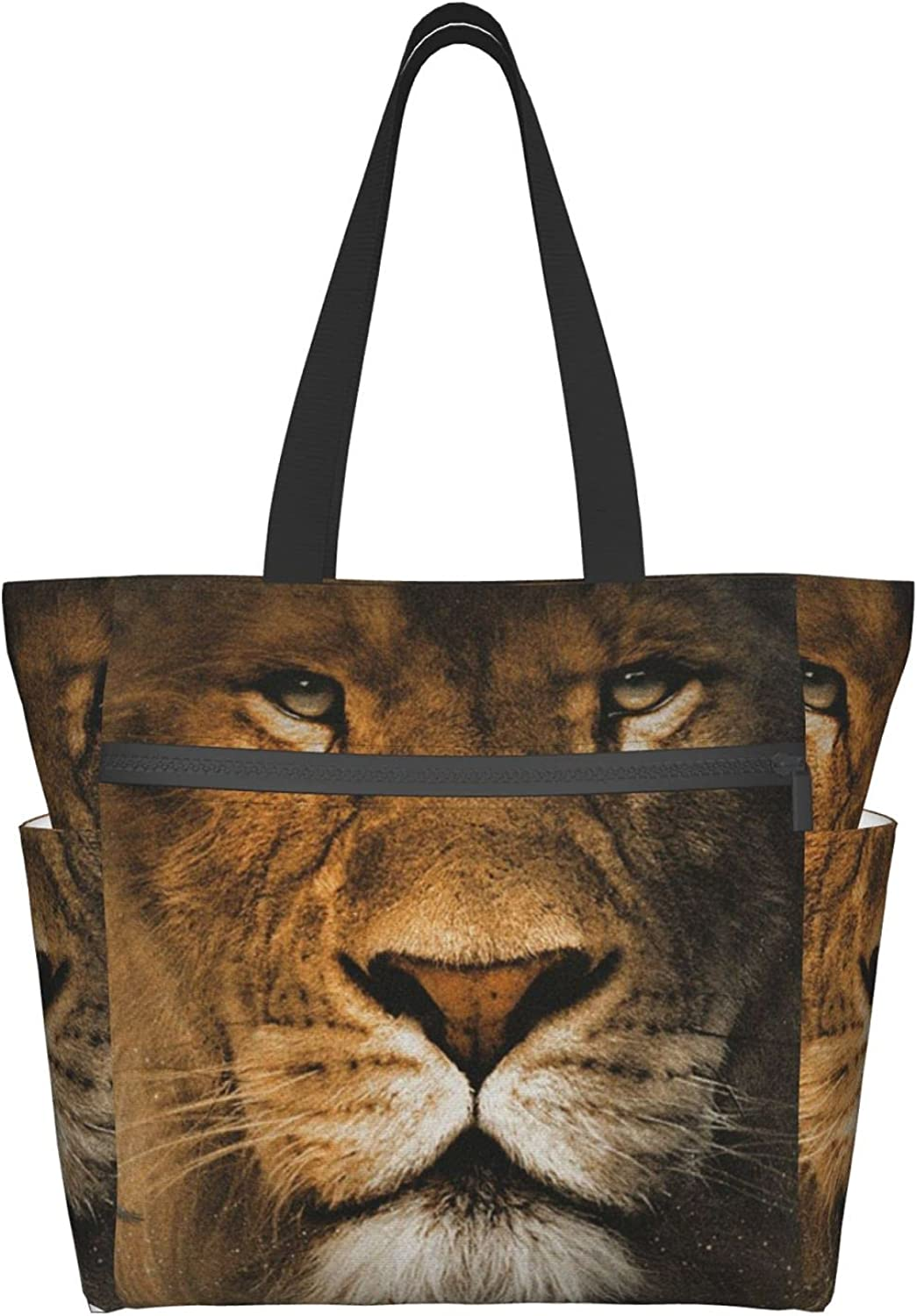 Tote Challenge the lowest price Bag with sold out Zipper for Women Daily Bags Handbag Lion Purse