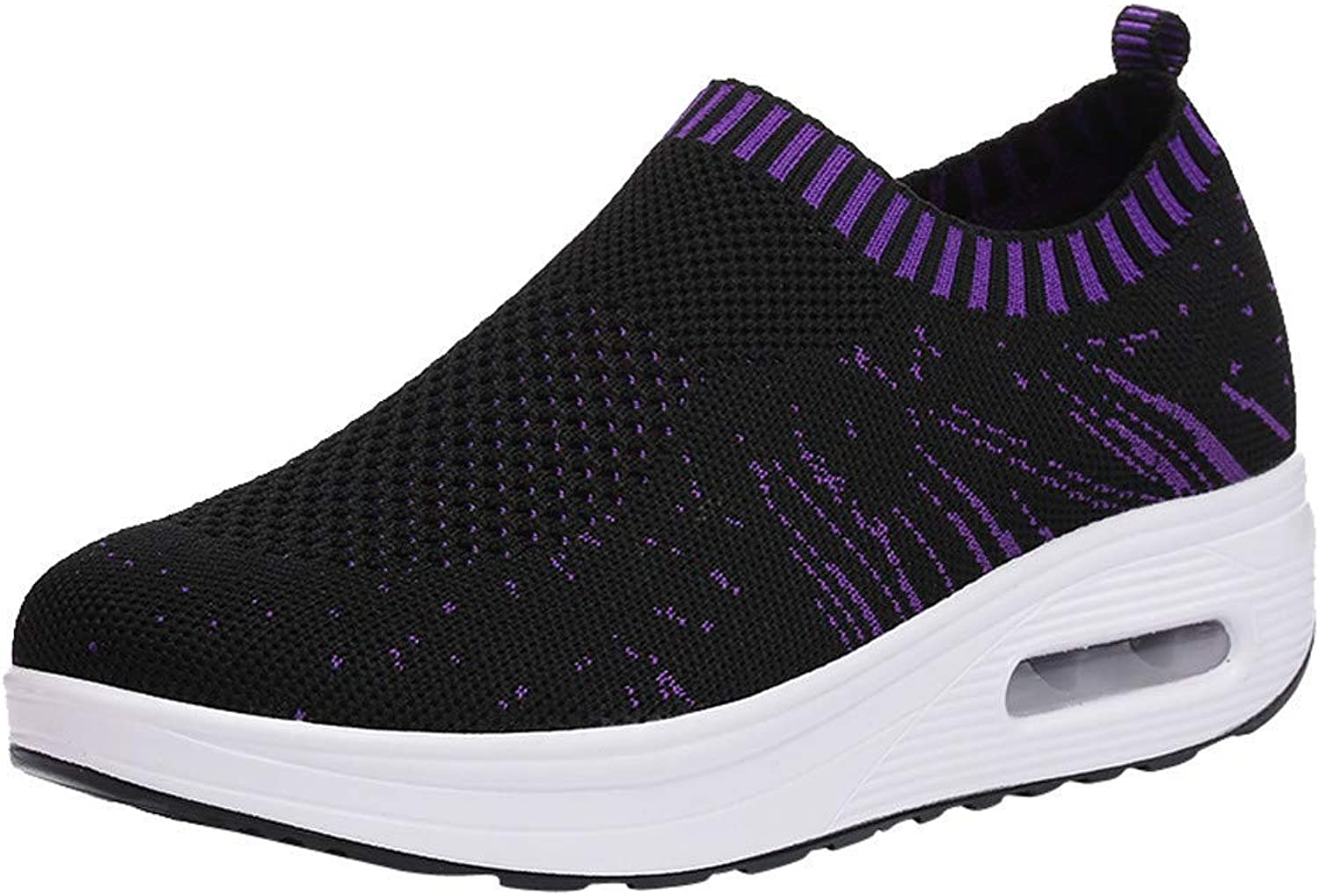JaHGDU Women Outdoor Mesh Casual Sport shoes Thick-Soled Air Cushion shoes Sneakers Breathable Lightweight Sneaker Running shoes