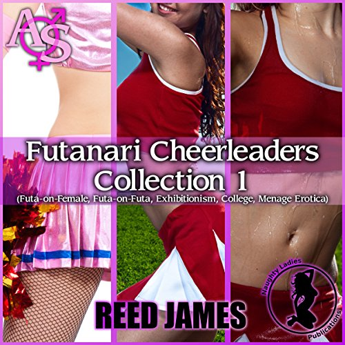Futanari Cheerleaders Collection 1 audiobook cover art