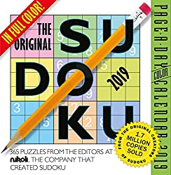 The Original Sudoku Page-A-Day Calendar 2019