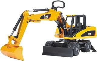 Bruder Caterpillar Wheel Excavator, Yellow, 2445
