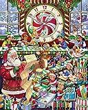 Toyland Christmas Jigsaw Puzzle 1000 PieceFinished size:75cm*50cm