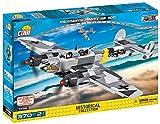 COBI 5538' Messerschmitt BF 110 C Konstruktionsspielzeug, Grau/schwarz/gelb