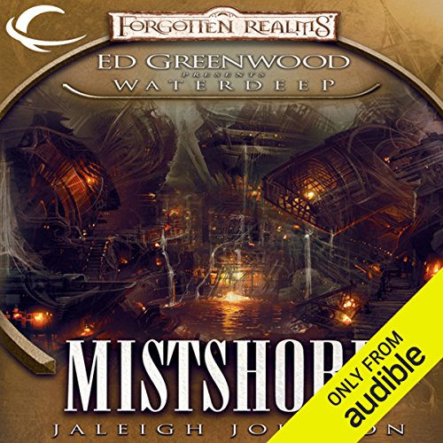 Mistshore audiobook cover art