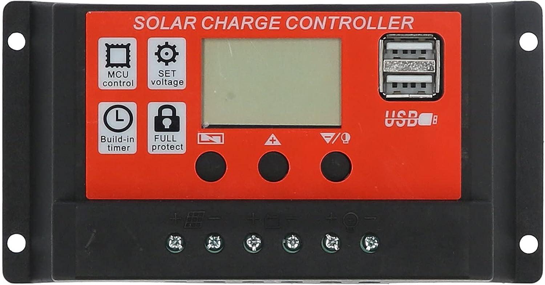 DFKEA Solar Panel Atlanta Mall Controller Smart Regu MPPT Display LCD Battery Fresno Mall