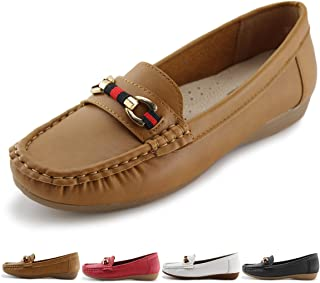 Women's Slip-on Loafers Flat Casual Driving Shoes