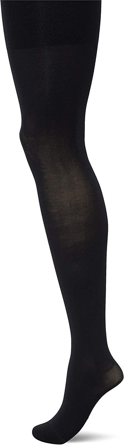SPANX Women's Luxe Leg Tights, Very Black, A