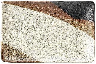 姿月窯 新彩雲 串皿 小 17cm 和食器 長角皿 日本製 美濃焼 業務用 65-51636012