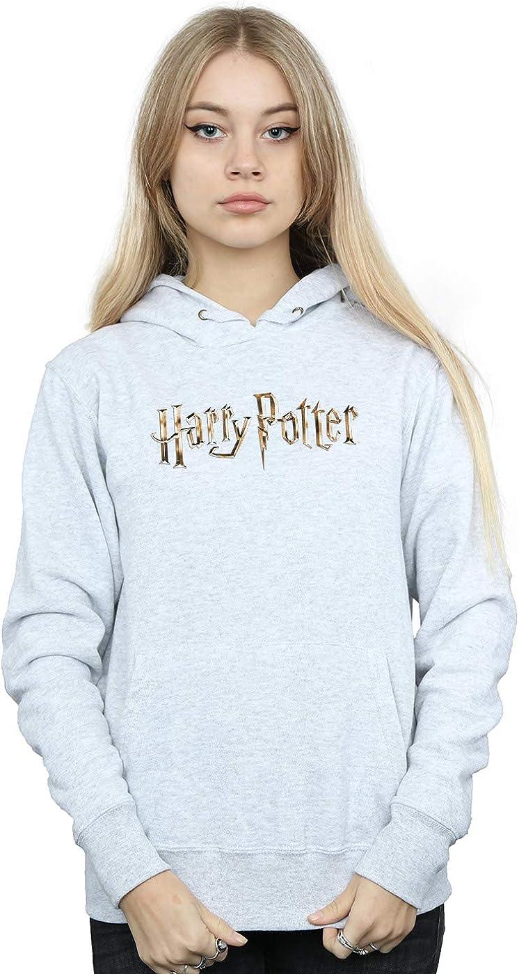 Harry Potter Fille Full Colour Logo Sweat /À Capuche