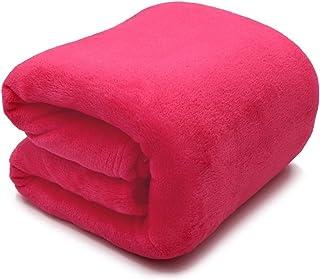 Cozy Blanket الفراش الصوف بطانية أحمر فاخر سرير بطانية مكافحة ساكنة غامض بطانية لينة ستوكات Fluffy Blankets (Size : 70x100cm)