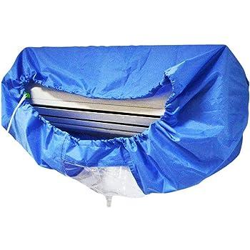 Sacca per lacqua di condizionamento climatizzatore Sacchetto per la Pulizia Pulito per Lavaggio della Polvere con Porta Coperchio per Pulizia Impermeabile Coperchio per climatizzatore a Parete