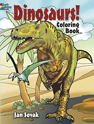 Dinosaurs! Coloring Book (Dover Nature Coloring Book)