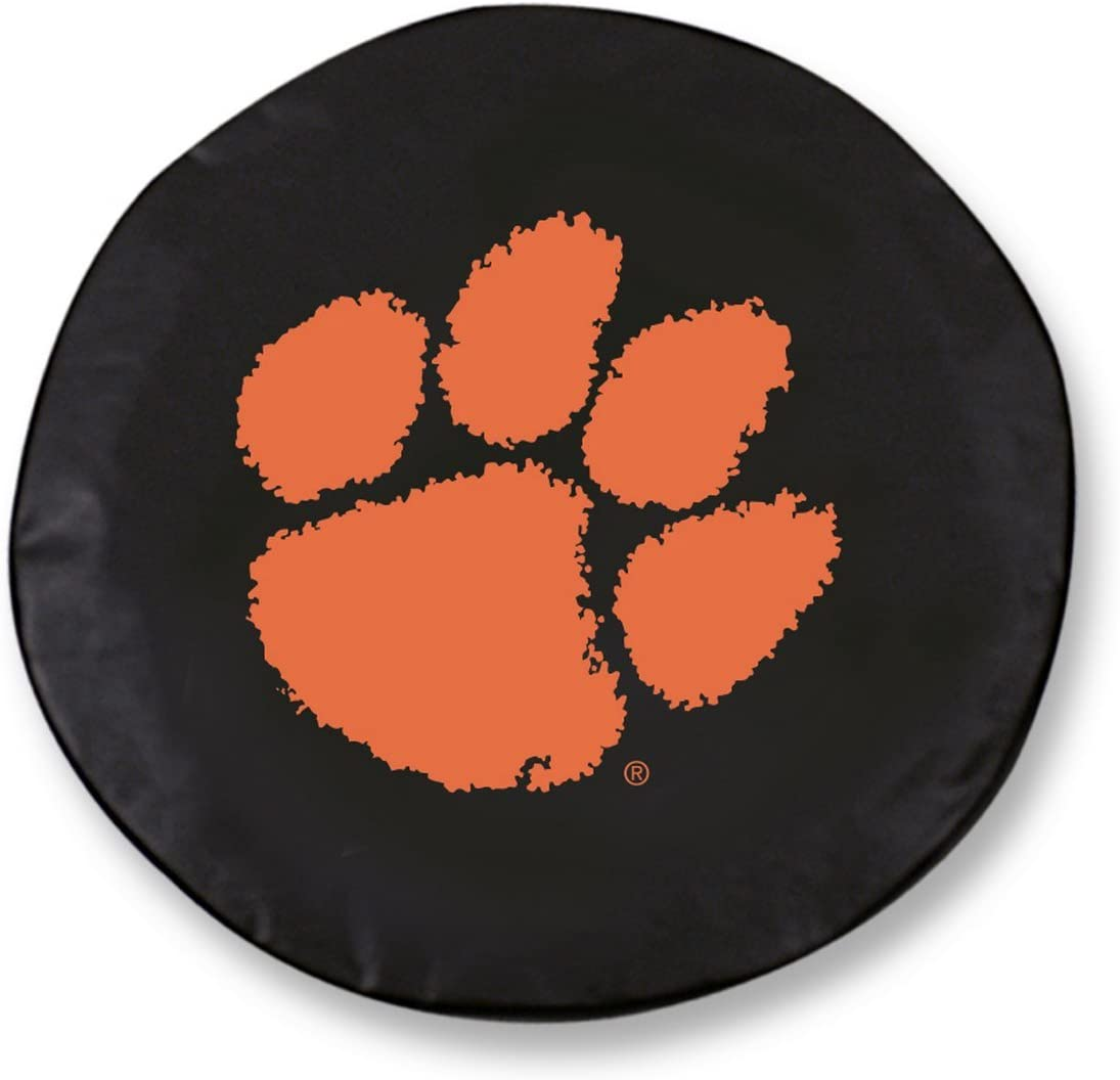 Holland Bar Max 54% OFF Stool Co. Clemson Tigers Vinyl Fitted HBS OFFicial store Black Spar