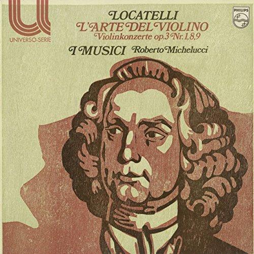 ロカテッリ:ヴァイオリンの技法Op.3~1,8,9番