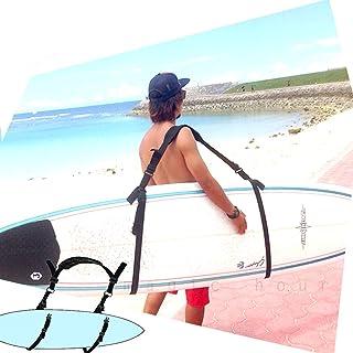 サーフボード キャリア キャリー キャリアー ベルト サーフィン グッズ 雑貨 紐 ショート ロングボード レトロ ファン ニットケース 移動らくらく キャリーケース ハード ケース