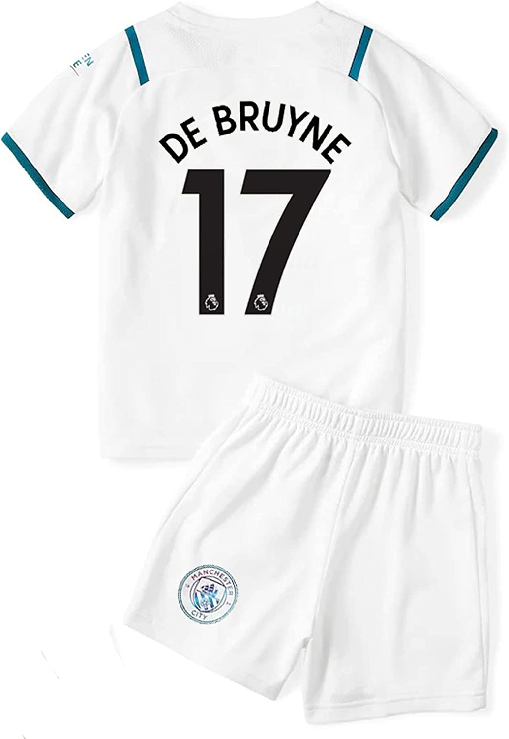 Ruhdxcw 2021-2022 New Season DE Mancheste #17 Max 68% OFF Youths Don't miss the campaign Kids Bruyne