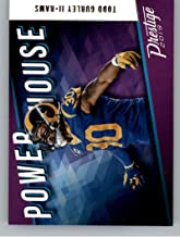 2019 Panini Prestige Power House #PH-TG Todd Gurley II Los Angeles Rams Football Card