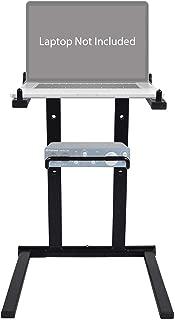 Rockville Folding Laptop+Interface Stand for Focusrite ITRACK Solo Lightning