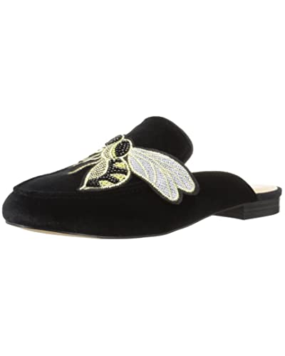 fab95c596e6354 Women s Black Velvet Shoes  Amazon.com