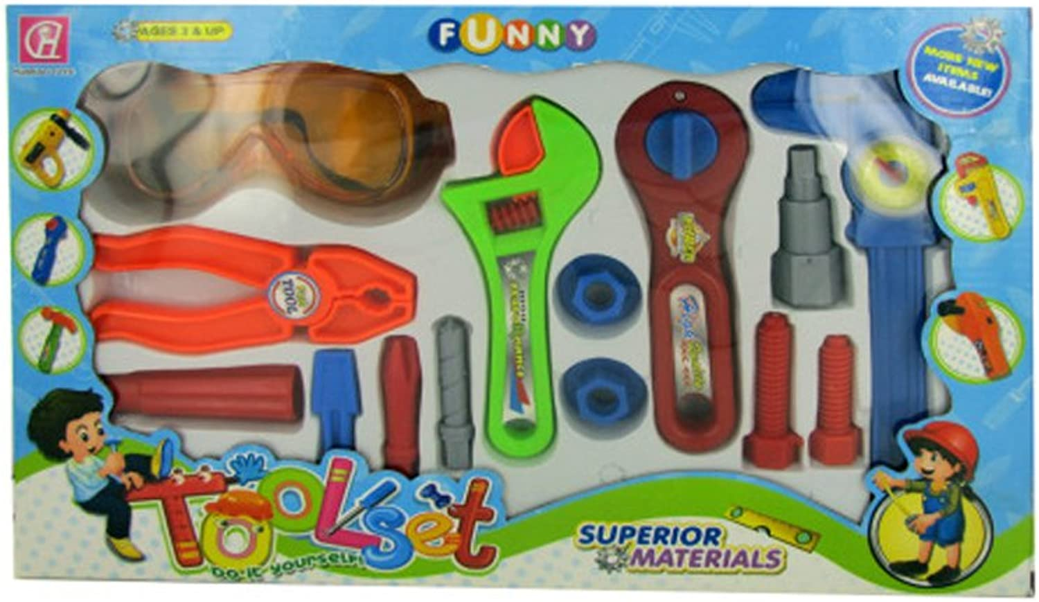 Kids Tool Play Set (Available in a pack of 2)