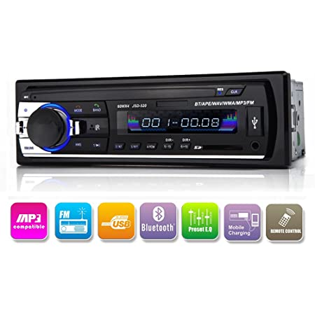 Autoradio Bluetooth In Armatur Single Din Auto Elektronik