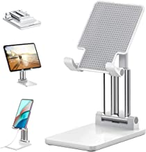 Sounce Desktop Mobile Phone Stand + Tablet Stand, Mobile Holder, Adjustable & Foldable Mobile Stand, Aluminum Stand Holder...