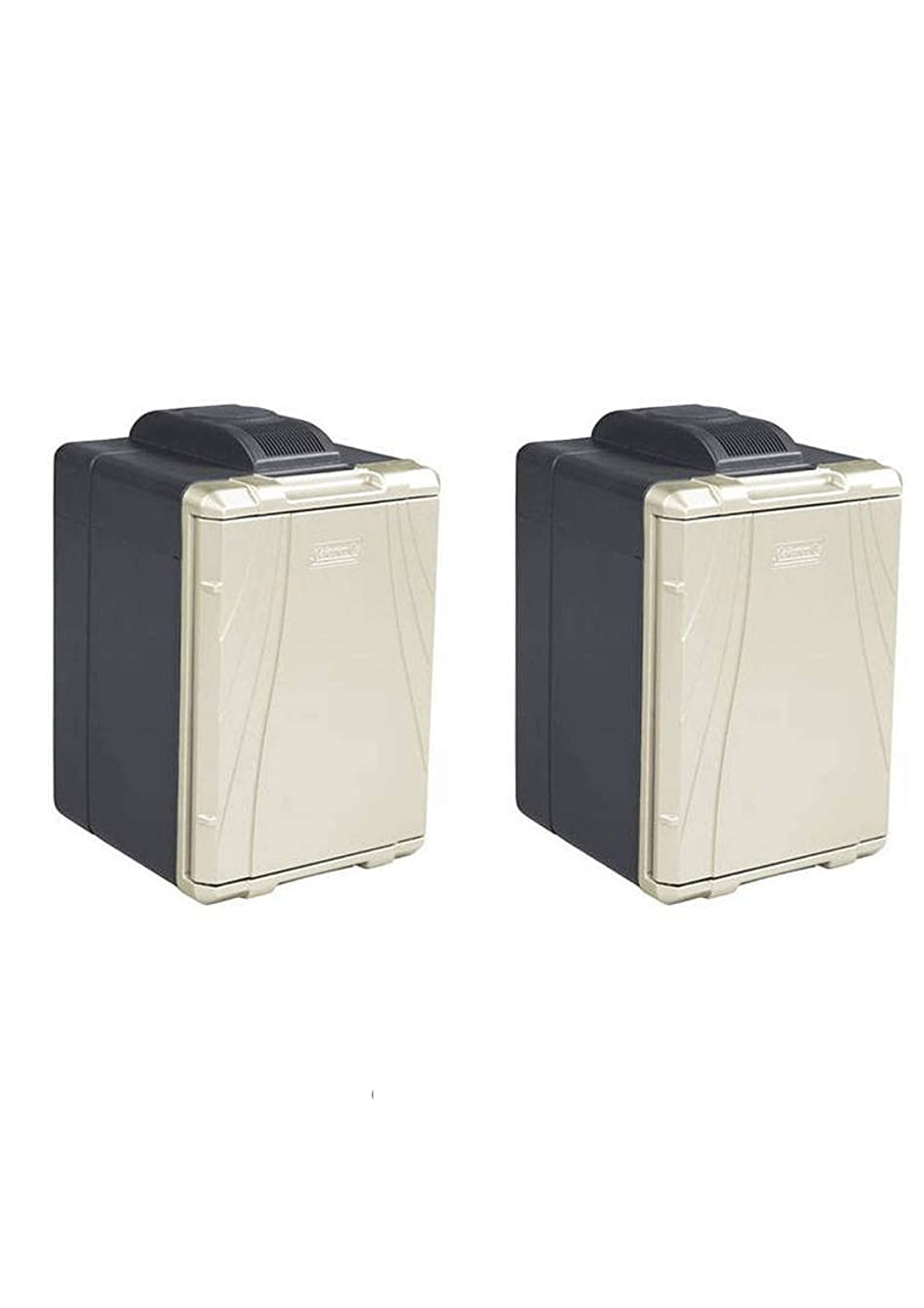 Coleman 40-Quart PowerChill Thermoelectric Cooler with Power Cord (2 Pack,40-Quart)