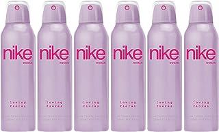 Nike Loving Floral Woman Eau de Toilette Desodorante Spray 200ml - Pack de 6