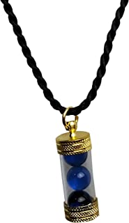 "Heavens Tvcz Blue Crystal Naga Eye Thai Amulet Lp Buddha Pendant Magic Gem Lucky Rich Necklace 22.75 "" for Good Things to ..."