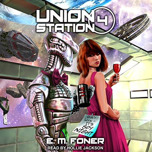 Spy Night on Union Station audiobook cover art
