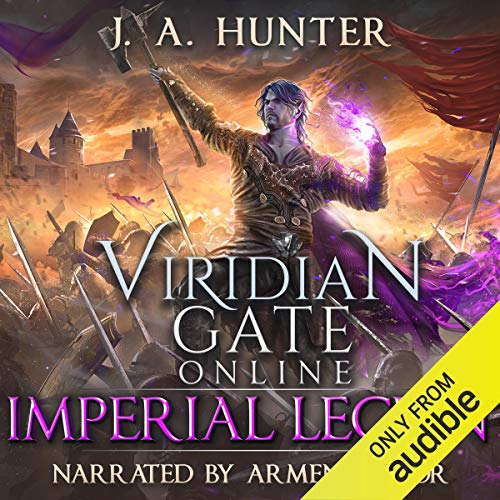 Viridian Gate Online: Imperial Legion audiobook cover art
