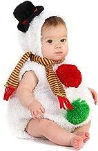 Baby Christmas Costume Newborn Snowman Dress Up Infant Snowbaby Romper Bodysuit Clothes