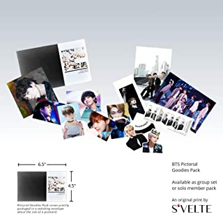 Kpop fans must-have: BTS Mystery Box of photocard, sticker, art print, bookmark, photo etc. A fandom pictorial goodies pack by S'VELTE.