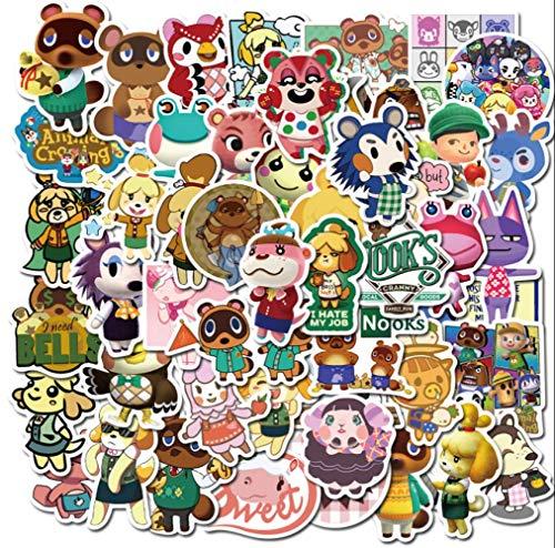 XINKA wildwechsel Aufkleber 50 Spielaufkleber CS Animal Crossing Apex Hero Super Mario Helm Gepäck Motorrad Körper Wasserdichter Aufkleber