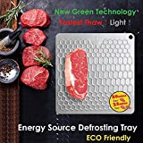 PDair Fast Defrosting Tray for Frozen Foods, Rapid...