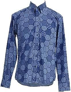 CosDaddy Mens Cosplay Hexagon Shirt Costume